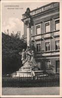 ! Alte Ansichtskarte Luxemburg, Luxembourg, Monument Dicks Lentz, Verlag Dr. Trenkler, Leipzig, 1908, Lux. Nr. 6 - Luxemburg - Town