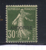 ANDORRE 10  N++ - Andorre Français