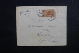 MADAGASCAR - Enveloppe De Tananarive Pour Marovoay En 1936 Par Avion, Affranchissement Plaisant - L 47336 - Madagaskar (1889-1960)