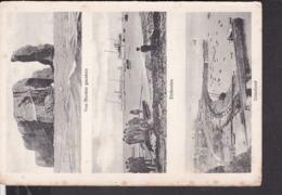 Helgoland  Mehrbildkarte  Unterland , Einbooten  1909 - Helgoland