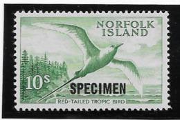Norfolk N°44 Surchargé SPECIMEN - Oiseaux - Neuf ** Sans Charnière - TB - Isla Norfolk