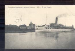 Enkhuizen Stavoren Stoomboot SS R Van Hasselt - 1934 Stavoren Enkhuizen A - Enkhuizen