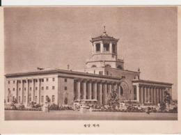 RAILWAY STATION PYONGYANG NORTH KOREA POSTCARD - Korea (Noord)