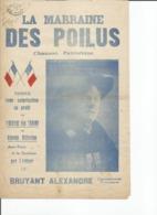 Partition Musicale Paroles De Bruyant Alexandre La Marraine DES POILUS - Scores & Partitions