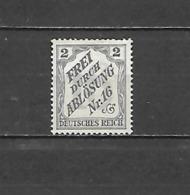 1905 - FRANCOBOLLI DI SERVIZIO N. 8A* (CATALOGO UNIFICATO) - Deutschland