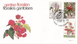 België - FDC  - Gentse Floraliën V - OBP 1749-1751 - FDC 1 - FDC