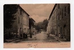 - CPA PIGNANS (83) - Avenue Des Maisons Neuves 1905 (belle Animation) - Edition Agnel - Cliché Giraud - - Sonstige Gemeinden