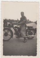 MOTO MOTORCYCLE MOTO GUZZI - FOTO ORIGINALE ANNI '30 - Photos