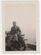 MOTO MOTORCYCLE MOTO GUZZI - FOTO ORIGINALE ANNI '30 - Foto
