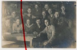 Original Foto - Oktober 1917 - In Den Kasematten Der Insel Helgoland - Helgoland