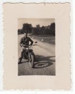 MOTO MOTORCYCLE MOTO GUZZI - PICCOLA FOTO ORIGINALE ANNI '30 - Altri