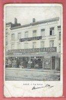 Namur 1905 - Grands Magasins Emile Lapeyre Rue Mathieu - Oblitération Namur (station) - Namur