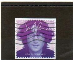 ETATS-UNIS   Forever     2018   Scott : 5314   John Lennon   Sur Fragment   Oblitéré - Estados Unidos