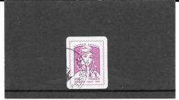 """FRANCE 2015   MARIANNE DE CIAPPA-KAWENA  TIMBRE AUTOADHESIF CACHET ROND. """" LETTRE SUIVIE """".Y&T: N° 1177A VIOLET - 2013-... Marianne De Ciappa-Kawena"""
