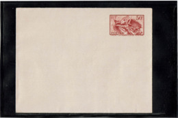 LCTN58/5 - ENV LA MARSEILLAISE PAPIER GRIS NEUVE - Postal Stamped Stationery
