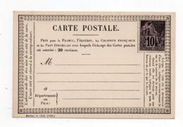 !!! PRIX FIXE : CARTE PRECURSEUR DES COLONIES GENERALES NEUVE - Alphée Dubois