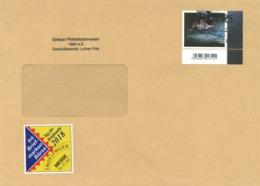 [A4] Mondlandung Shuttle Verschwörung - Vignette: Messe Sindelfingen - FK - Storia Postale