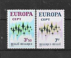 België 1971 Y&T Nr° 1624/24 (**) - Belgium