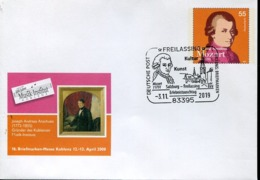 49180 Germany, Special Postmark 2019  Mozart  Freilassing, Postmark On 0,55€ Stationery(mozart) Of 2008 !!! - Musique