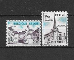 België 1972 Y&T Nr° 1636/37 (**) - Belgium