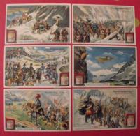 6 Chromo Liebig : Mémorables Passages Des Alpes. 1913. S 1073. Chromos. - Liebig