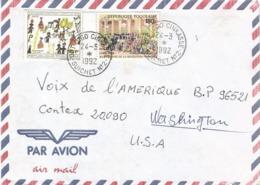 Togo 1992 Cinkasse Guichet 2 French Revolution Abolitation Des Privileges Children Cover - Révolution Française
