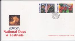 Guernsey 1998 FDC Europa CEPT  (NB**LAR8-64) - Europa-CEPT