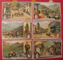 6 Chromo Liebig : République D'Andorre Andorra. 1912. S 1059. Chromos. - Liebig