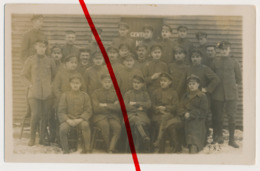 Original Foto - Ca. 1916 - POW Officer Camp Redmires Near Sheffield - With Names! - Sheffield