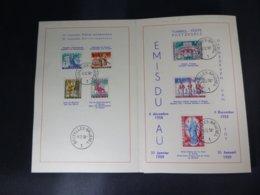 "BELG.1958 1082/88 FDC Filatelic Card :"" Antiteringszegels,Belgische Legenden / Antituberculeux ,folklore Belges "" - FDC"