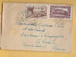 Devant D'enveloppe 1948 - Morocco (1956-...)