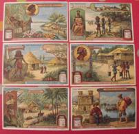 6 Chromo Liebig : Pays équatoriaux Congo Brésil Sumatra équateur Colombie Bornéo. 1912. S 1054. Chromos. - Liebig
