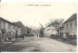 JENZAT. LA GRANDE RUE - Autres Communes