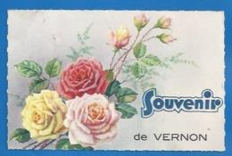 27- VERNON  - SOUVENIR - FANTAISIE - ROSES - 1942 - Vernon