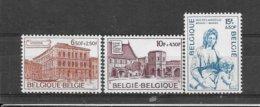 België 1975 Y&T Nr° 1759/61 (**) - Belgium