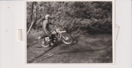 Yamaha125cc +-15cm X 10cm  Moto MOTOCROSS MOTORCYCLE Douglas J Jackson Archive Of Motorcycles - Other