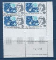 "Nle-Caledonie Coins Datés Aerien YT 298 (PA) "" Copernic "" Neuf** Du 24.3.93 - Ongebruikt"