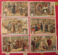 6 Chromo Liebig : Librairie Libraire. 1912. S 1047. Chromos. - Liebig