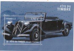 FRANCE: FETE Du TIMBRE : Citroen- Traction   Année 2019 - France