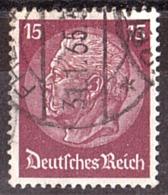 Allemagne - 1932 - N° 450 - Président Hindenburg - Oblitérés