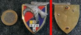Insigne Armée Française 7° RA Régiment D'Artillerie à Nevers (dissous Aujourd'hui) NOISIEL 3216 - Landmacht