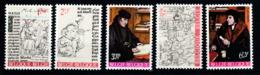 Belgique - Timbres De 1967 - COB 1427 / 1431 XX Culturelle - Belgium