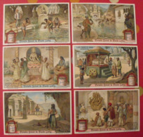 6 Chromo Liebig : Les Dieux Des Indous. Hindous. 1912. S 1041. Chromos. - Liebig