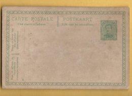 CARTE POSTAL  / POSTKAART / 5 Ct - Stamped Stationery
