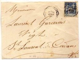 CERBERE à NARBONNE Le 26/4/93 - Poststempel (Briefe)