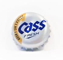 Capsules Ou Plaques De Muselet   BIÈRE  CASS BIÈRE CORÉENNE - Bier