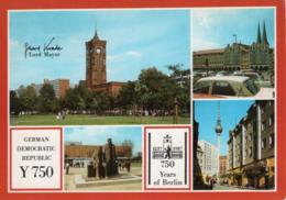 Germany (DDR). QSL Card, Y750, Berlin. 1987. - CB
