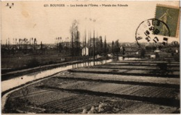 BOURGES (18) Les Bords De L'Yevre - Le Marais Des Ribauds - Dos Vert - Carte Postée Le 21 Octobre 1917 - Bourges