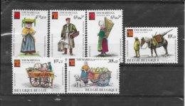 België 1975 Y&T Nr° 1789/94 (**) - Belgium