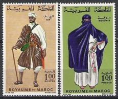 Maroc N° 553 NEUF ** 554 NEUF * YVERT - Morocco (1956-...)